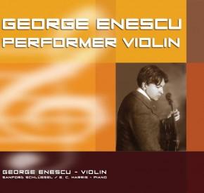 Enescu - Performer Violin promo CF